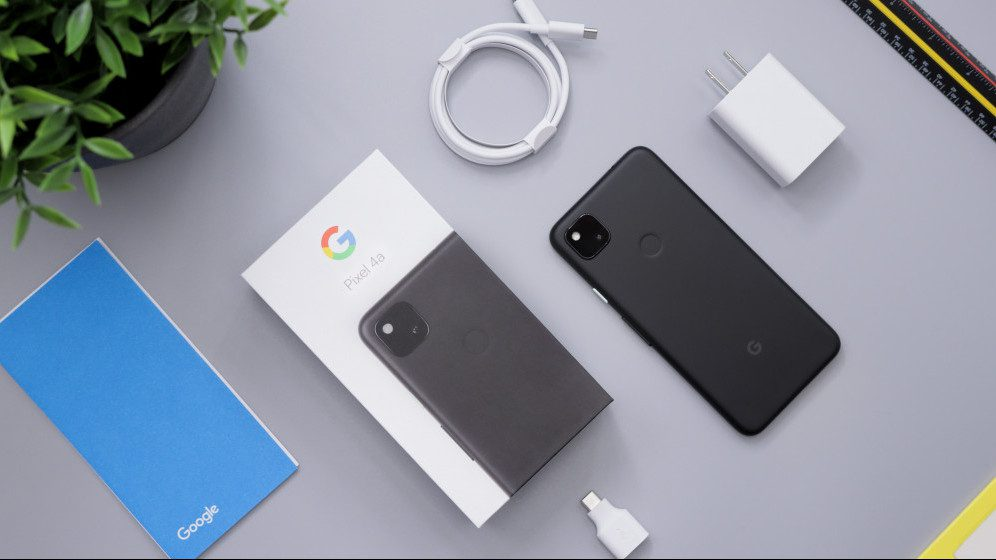 In the Box Pixel 4a