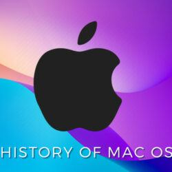 History of Mac OS one